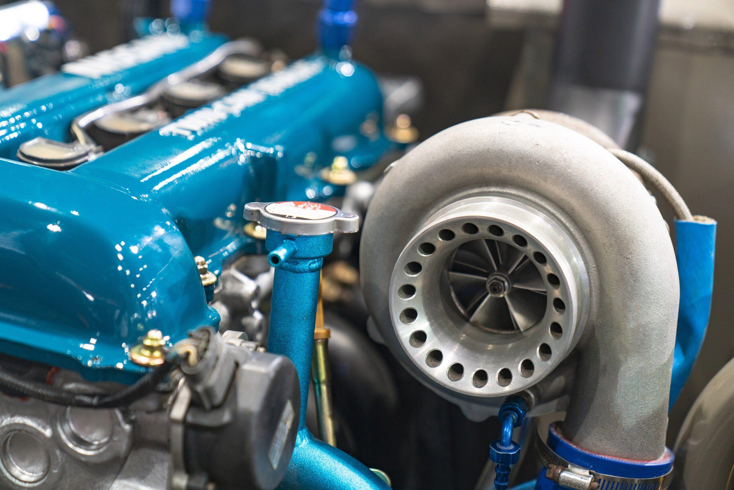 Turbocompresseur dans un moteur
